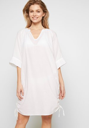 BEACH TEXTURED COVER UP - Complementos de playa - white