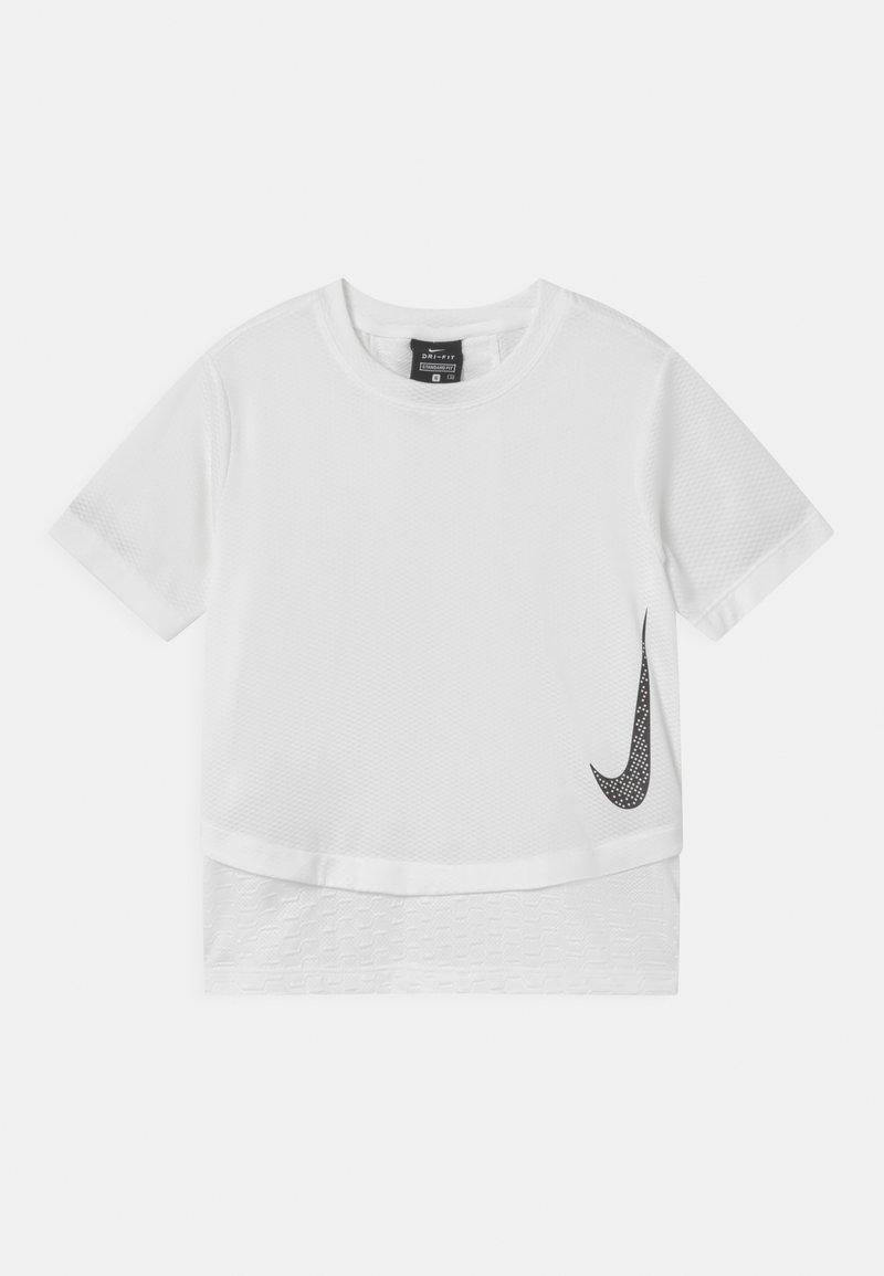 Nike Performance - INSTACOOL - Print T-shirt - white