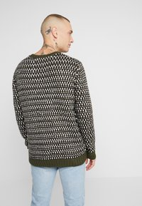 Only & Sons - ONSZIGOR CHUNKY CREW NECK - Jumper - olive night - 2