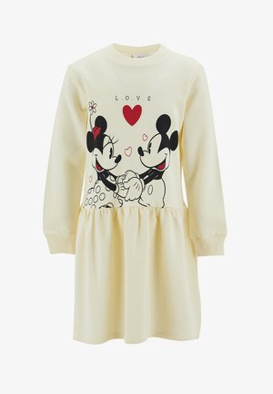DISNEY - Jumper dress - beige