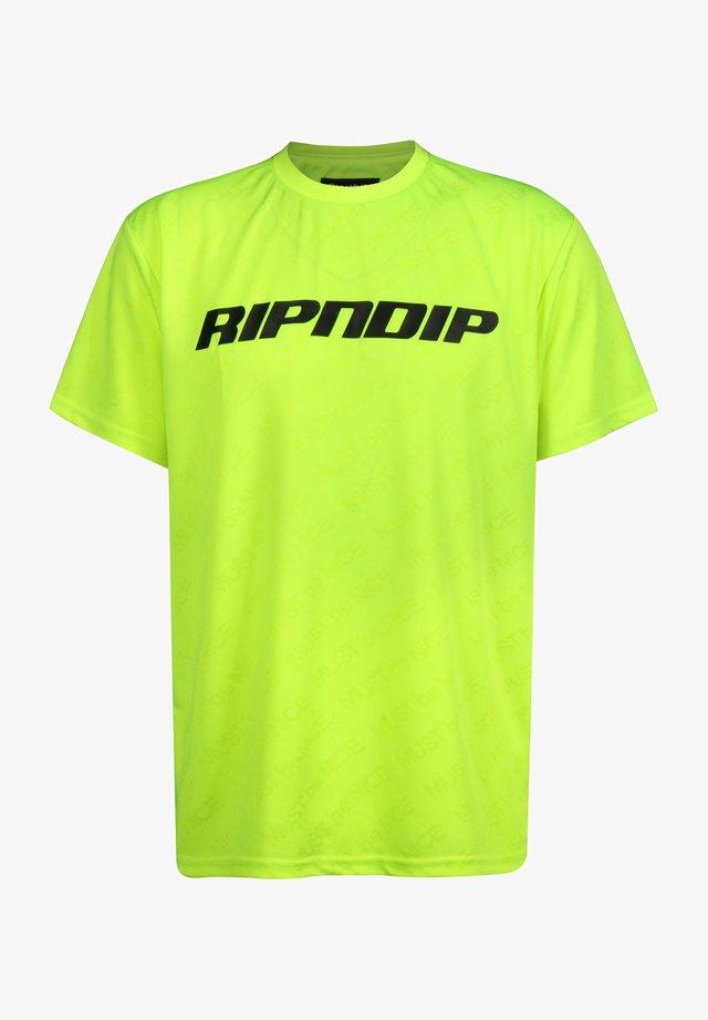 MBN STRIPE - T-shirt print - neon