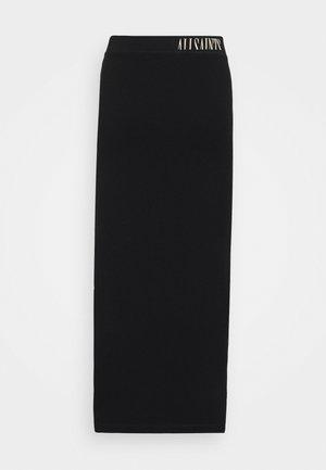 JAMIE SKIRT - Maxi skirt - black