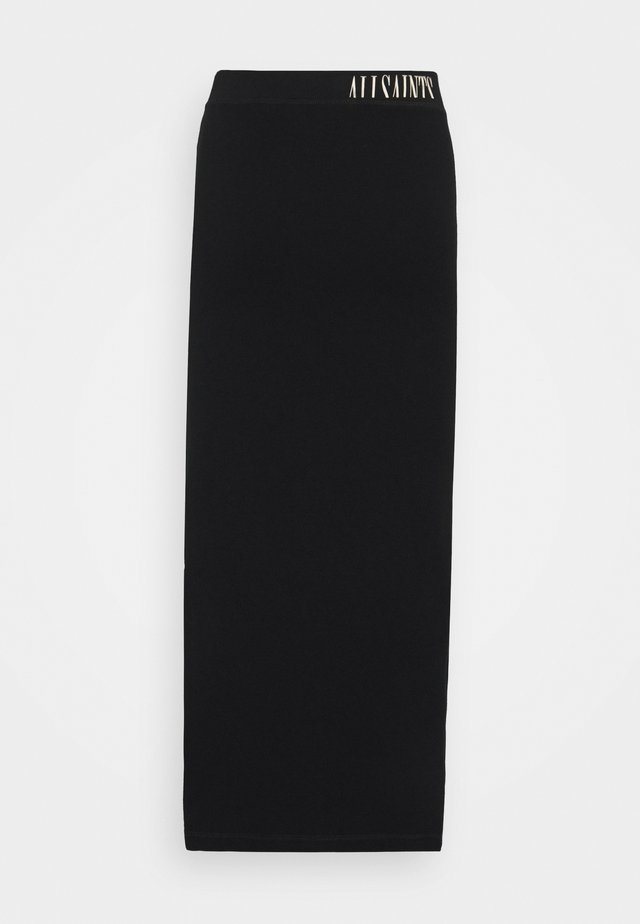 JAMIE SKIRT - Gonna lunga - black