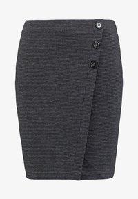 Esprit - JAQUARD SKIRT - Pencil skirt - grey/blue - 3