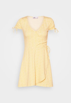 DRESS - Sukienka z dżerseju - yellow