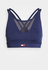 LOW SUPPORT BRA - Sports bra - blue