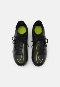 Nike Performance - JR PHANTOM GT CLUB DF MG UNISEX - Korki Lanki - black/cyber/light photo blue - 3