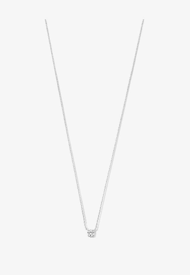 14 KARAT GOLD - Halsband - silber