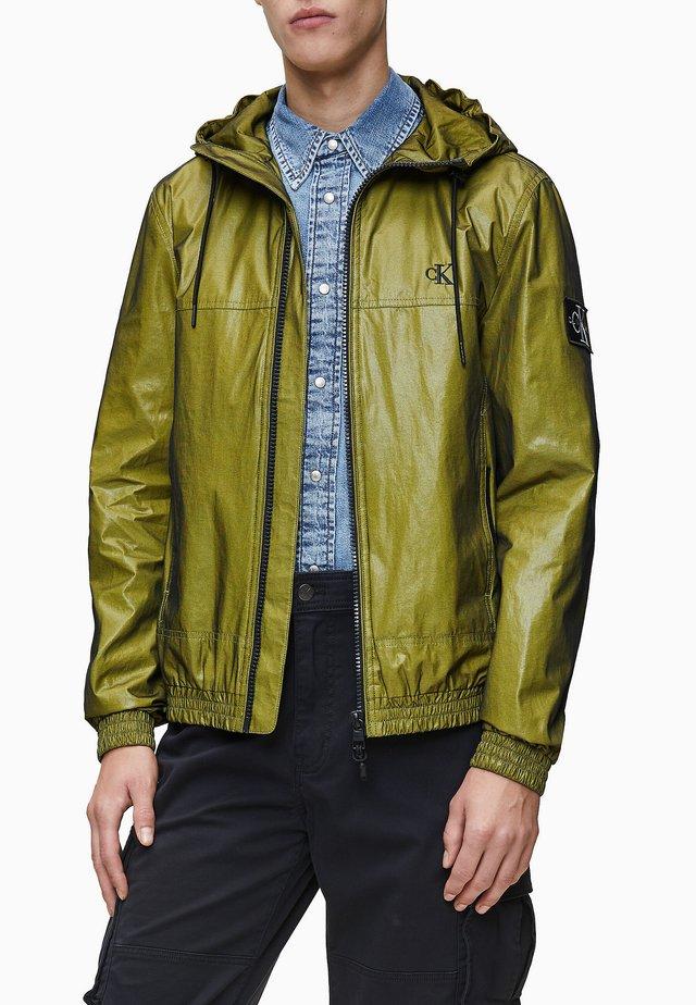 MESH HOODED  - Light jacket - solar yellow
