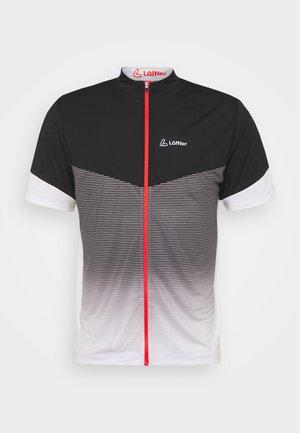 BIKE STREAM - T-shirt imprimé - silver grey