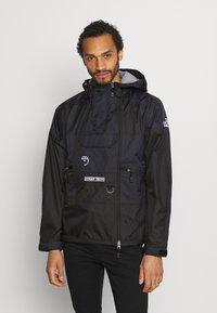 The North Face - STEEP TECH LIGHT RAIN JACKET - Waterproof jacket - black - 0