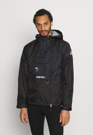 STEEP TECH LIGHT RAIN JACKET - Sadetakki - black