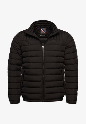 Gewatteerde jas - jet black