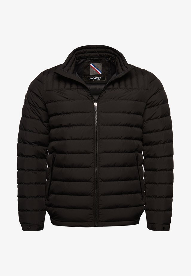 Down jacket - jet black