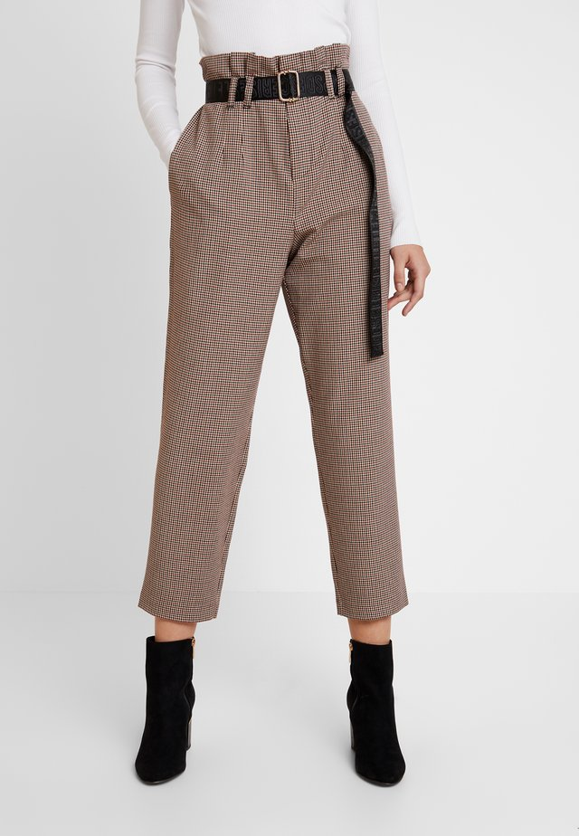 ERIA - Trousers - ginger
