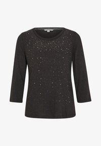 comma casual identity - Long sleeved top - anthracite - 4