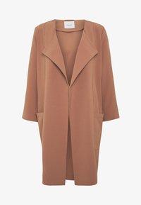 Pieces - PCKORNELIA  - Krátký kabát - copper brown - 4