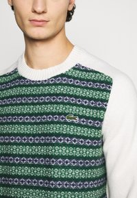 Lacoste LIVE - Pullover - abysm/green/flour - 5