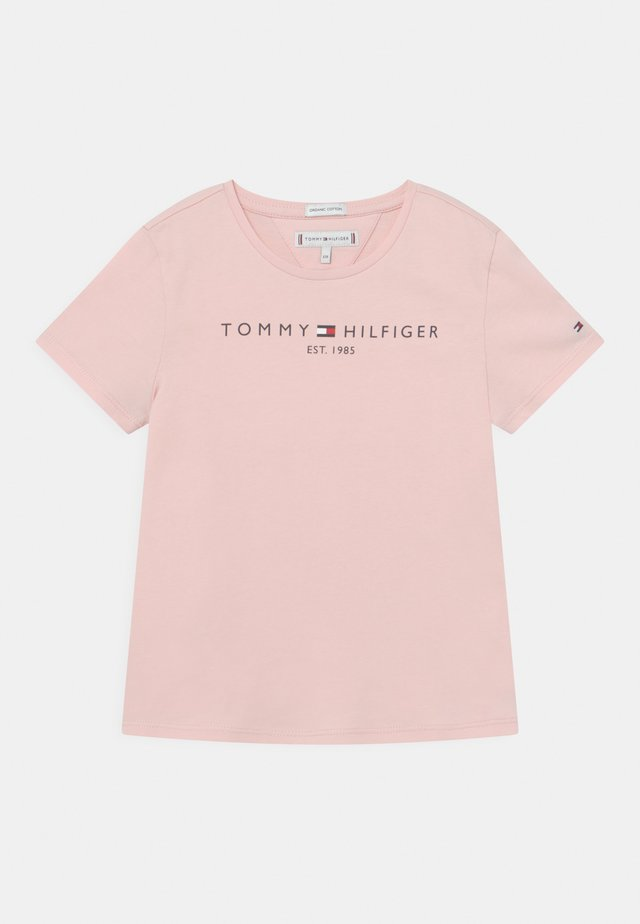 ESSENTIAL TEE  - T-shirt med print - delicate pink