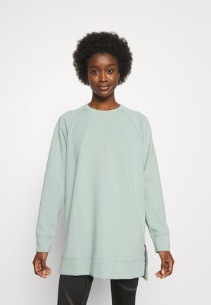 EXHALE OVERSIZED COVERUP - Bluza - frosty green