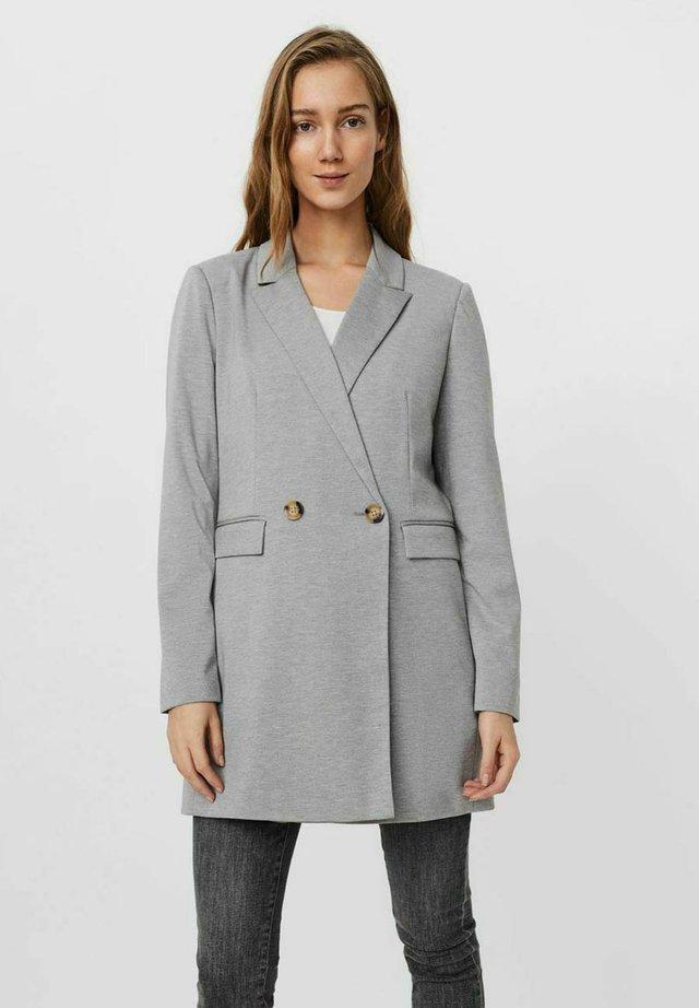 Abrigo corto - light grey melange