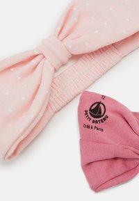 Petit Bateau - BABY BANDEAUX 2 PACK - Ohrenwärmer - pink - 1