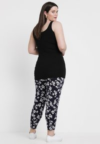 New Look Curves - NEW LONGLINE 2 PACK - Top - black/white - 4