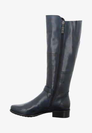 Cowboy/Biker boots - dunkelblau