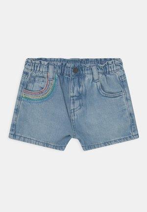 RAINBOW - Denim shorts - blue denim