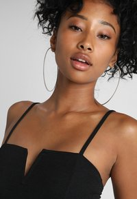 New Look - GO NEW NOTCH NECK BODY - Top - black - 3