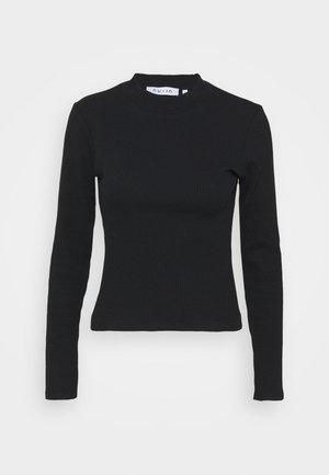 OPEN BACK DETAIL - Long sleeved top - black