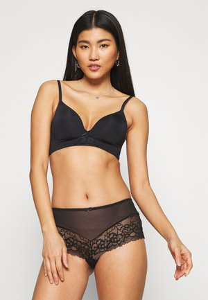SEXY 3 PACK - Pants - black