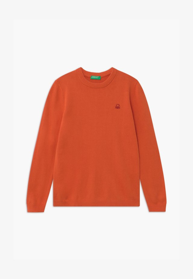 Strikpullover /Striktrøjer - orange