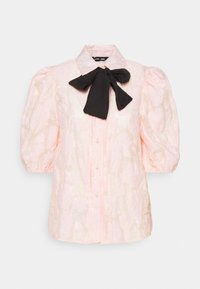Sister Jane - APERITIF FLORAL PUFF SLEEVE BLOUSE - Button-down blouse - pink - 4