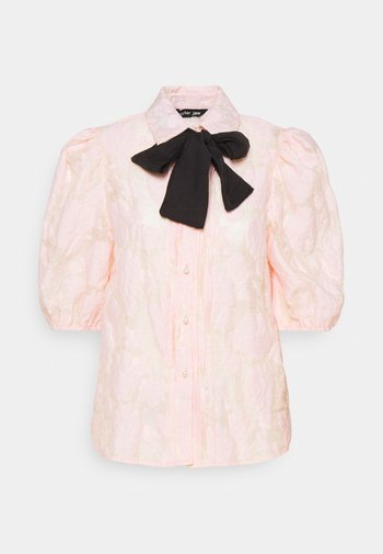 APERITIF FLORAL PUFF SLEEVE BLOUSE