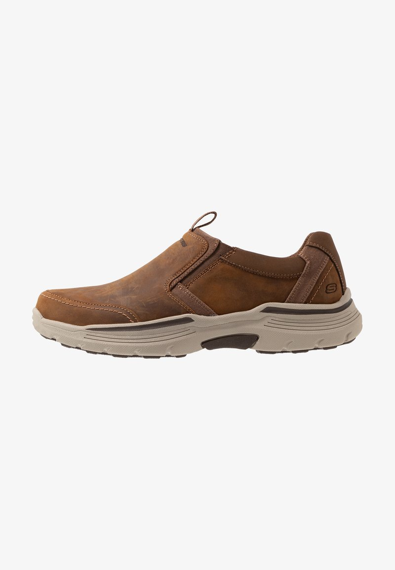 Skechers - EXPENDED - Półbuty wsuwane - dark brown