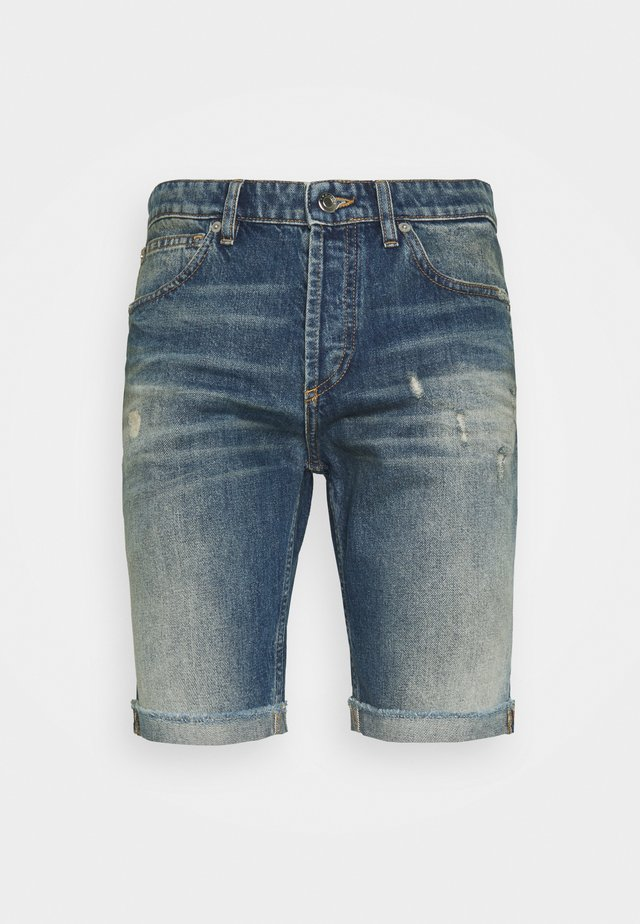 Shorts di jeans - dark used denim