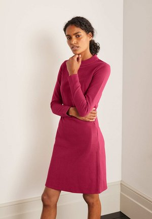 Day dress - warmes cranberry-rot