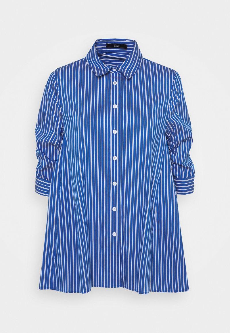 Steffen Schraut - BENITA FASHIONABLE BLOUSE - Button-down blouse - ocean