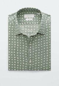 Massimo Dutti - SLIMFIT - Shirt - evergreen - 2