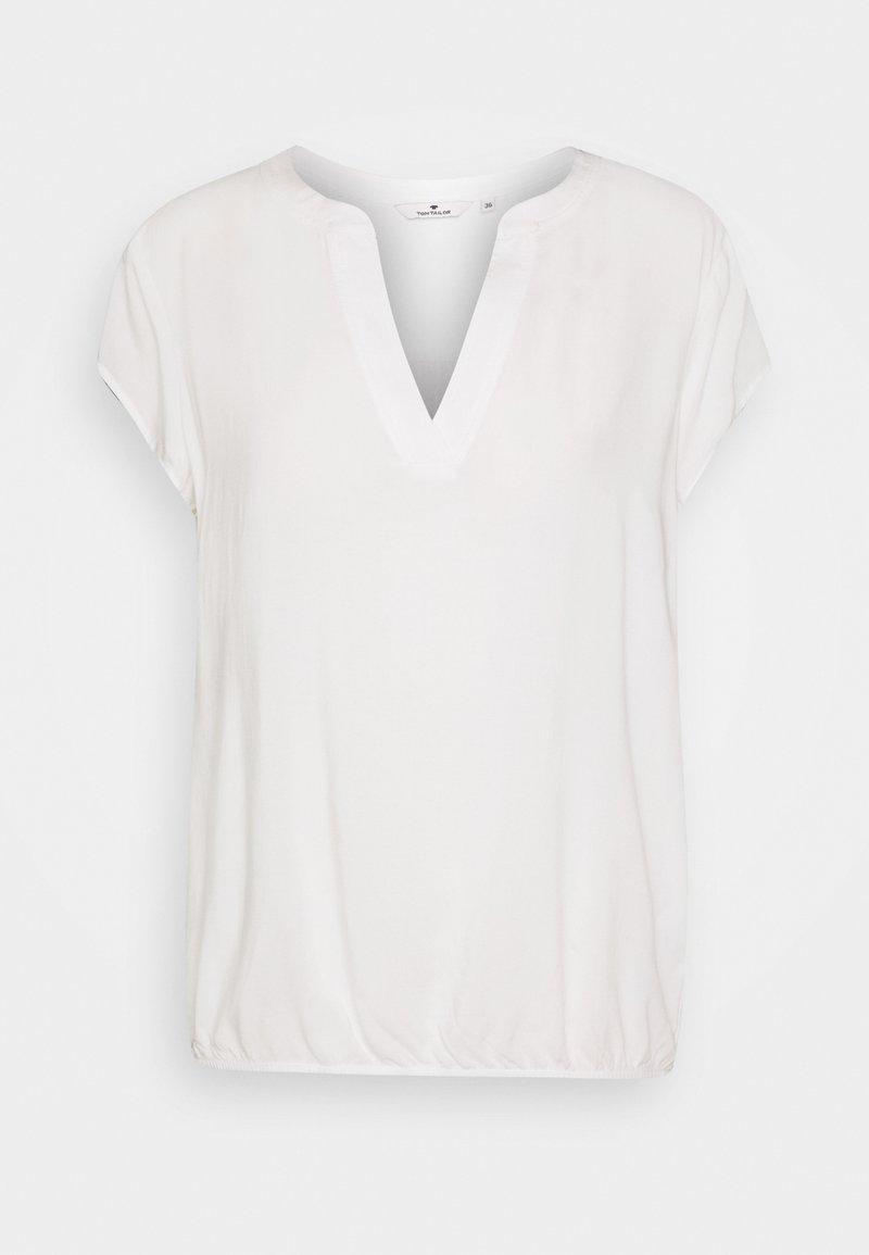 TOM TAILOR - Bluse - whisper white