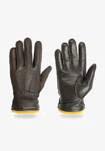 MILES - Gloves - hazel