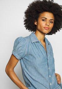 Polo Ralph Lauren - BELLA SHORT SLEEVE SHIRT - Skjorte - medium indigo - 3