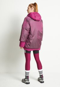 adidas Performance - URBAN COLD RDY OUTDOOR JACKET 2 IN 1 - Down jacket - power berry - 2