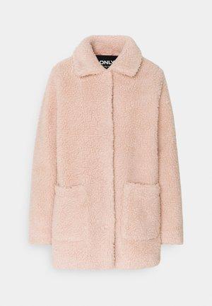 ONLAURELIA MIA SHERPA JACKET - Classic coat - rose smoke