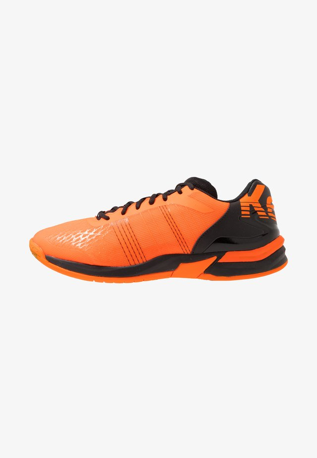 ATTACK CONTENDER CAUTION  - Chaussures de handball - fresh orange/black
