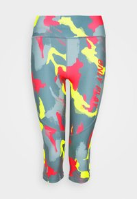 ONPALECXIA LIFE - Leggings - Trousers - goblin blue/safety yellow