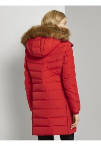 TOM TAILOR - SIGNATURE PUFFER COAT - Winter coat - strong red - 2