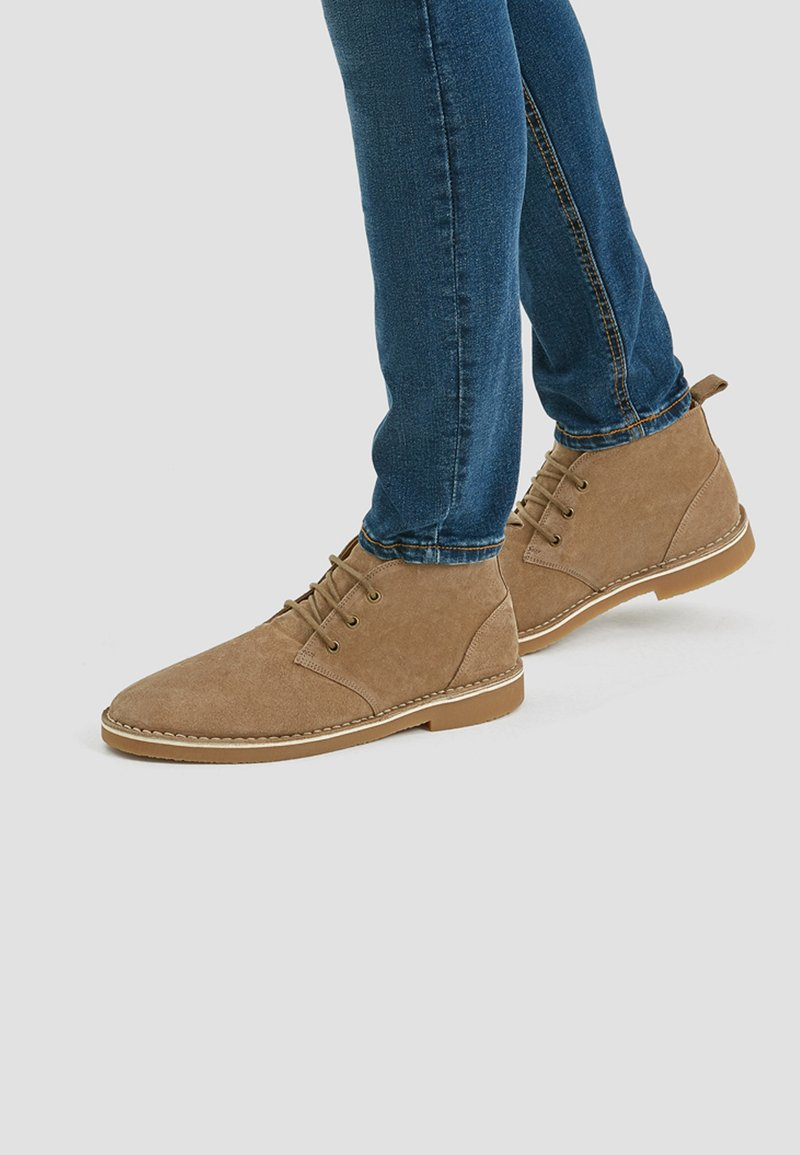 PULL&BEAR - Lace-ups - brown