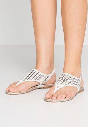 DWAOVIEL - T-bar sandals - white